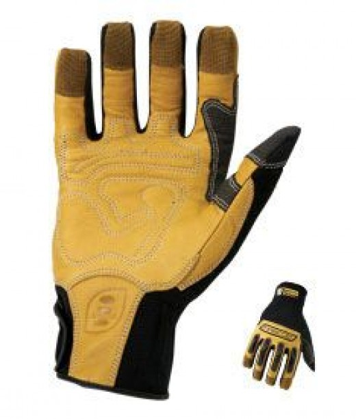 Washable Leather Work Gloves