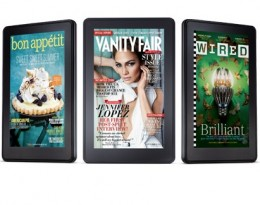 With the Kindle Fire's brilliant color display reading a magazine is more enticing than ever.