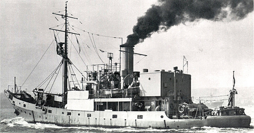 I don't think anyone in the know would have to be very discerning to know that HMAS Boomering was based on the real HMAS Kookaburra, a 540 tonner built in 1939.