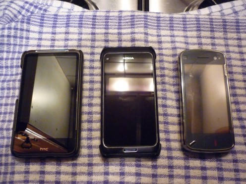 My 3 Handets