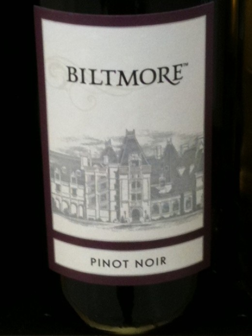 One of the wines of Biltmore Estates.