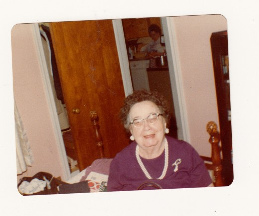 The greatest woman I have ever known, Rose Adela Forwood.