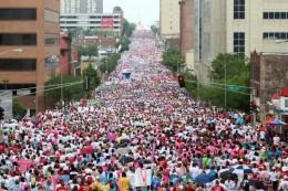 Komen Race for the Cure Participants--St. Louis, MO, 2011