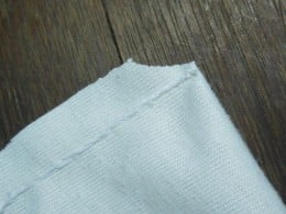 After stitching everything, I notched the lining to keep the bulk in the corners to a minimum.