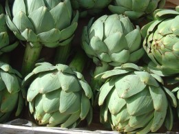 Artichokes look magnificent on the plate