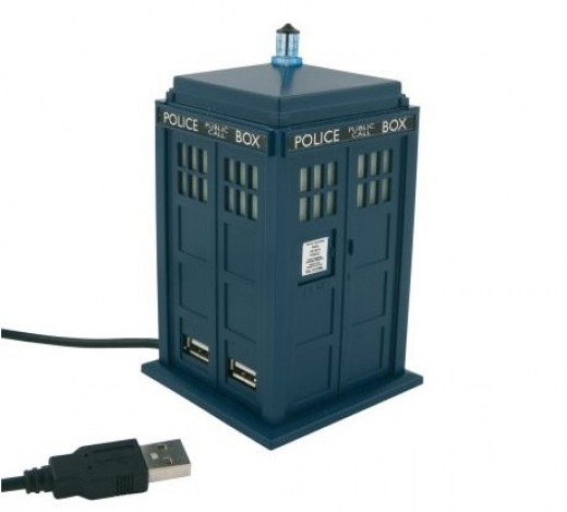 Dr Who USB hub