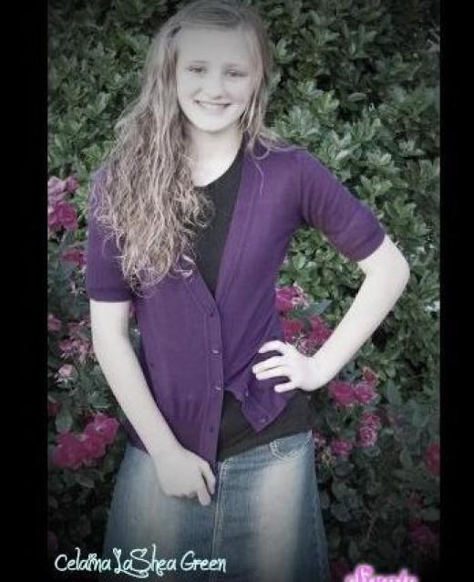 Celaina LaShea  age 12