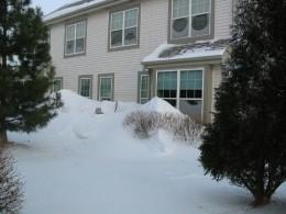 A blizzard in Wisconsin in 2010!