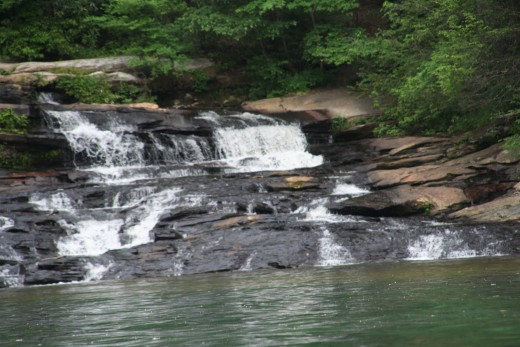 Waterfalls on Lake Keowee