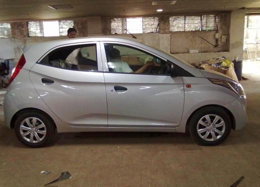 Hyundai Eon Silver Color