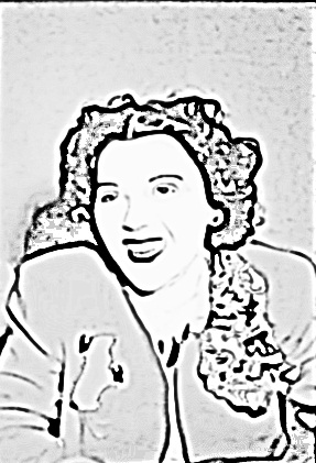 The Photo Copy filter is an interesting effect that brings out the great lines of the eyebrows and the hairline around the face.