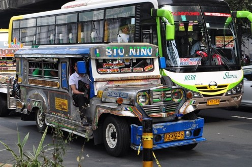 Philippine Jeepney used as public passenger vehicle taken by Pangkat