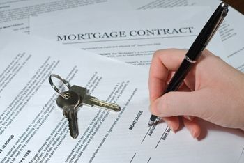 It is possible to buy a house on contract terms as well as a mortgage.