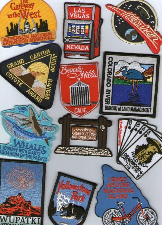 Souvenir Travel Patches