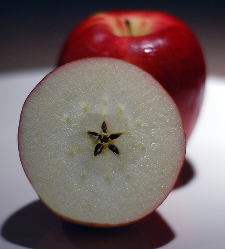 The Apple is Sacred Fruit believed to have grown on the Isle of Avalon.