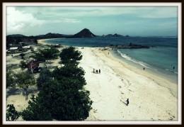 Kuta Beach in Lombok.