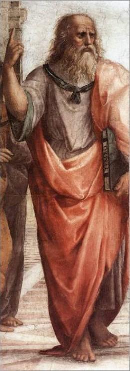 Painting of Plato.