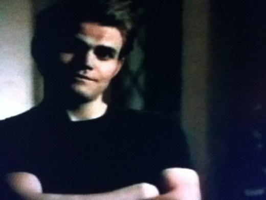 Inhuman Stefan returns to keep on eye on Elena for Klaus.