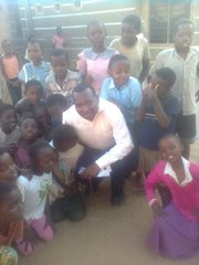 Josphat Gitonga and the orphans