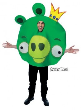 Angry Birds King Pig Costume