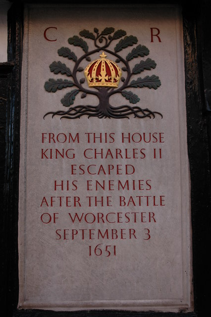 Plaque to Charles II