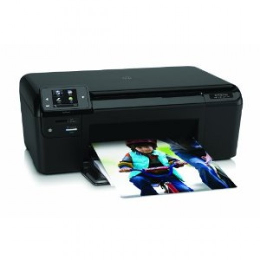 HP printer used for cheap printer ink challenge experiment