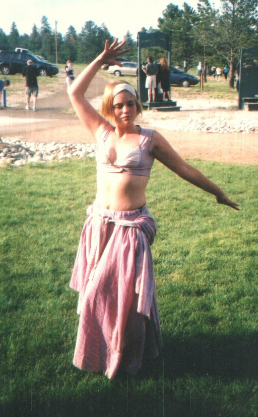 Bellydancing is a fun way to get in shape!