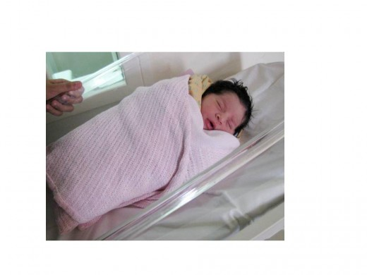 This is the picture of our first child born on 13th Sep 2011.