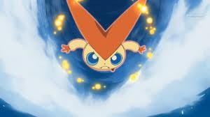 Victini, a psychic/fire-type from the Unova region, is my favorite Pokémon of all!!
