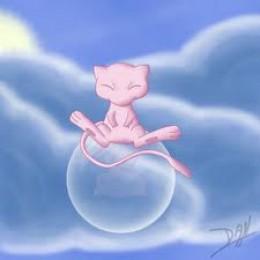 Mew is a legendary psychic-type Pokémon.
