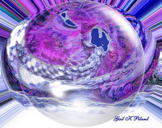 Purple Passion Bubble from gailpiland Source: flickr.com