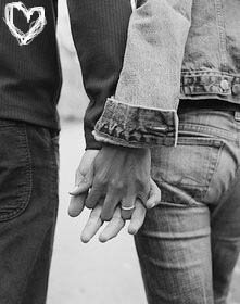 Love and Romance involves holding hands and just being together