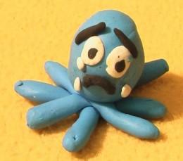 Sammy Squid Crying