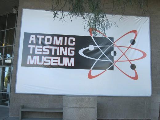 The Atomic Testing Museum in Las Vegas.