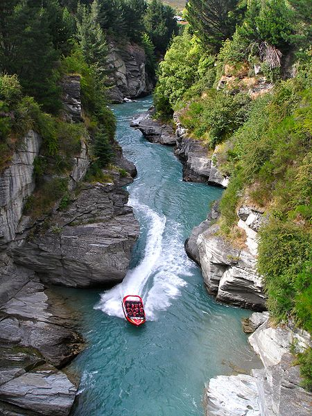 South Island Shotover jet experience