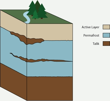 The permafrost layer
