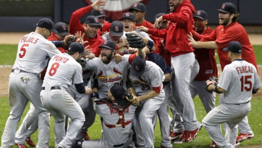 Cardinals are National League Champions.
