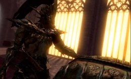 Dark Souls Defeating Ornstein and Smough - Smough the Executioner is down, only Ornstein the Dragonslayer to go.