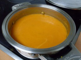 home made cream of tomato soup