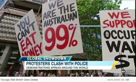 Protest goes worldwide