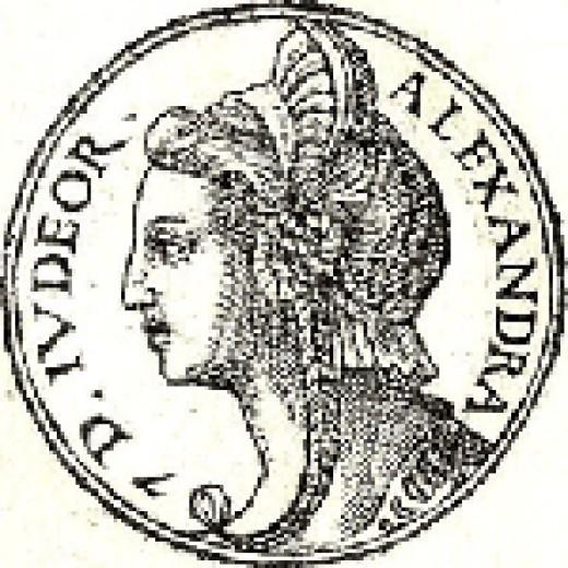 The Ancient Queen of Judea.