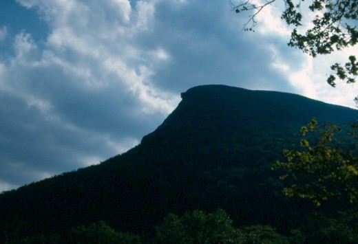 Old Man of the Mountains, Franconia Notch State Park, New Hampshire.