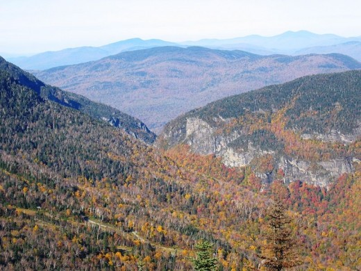 Smugglers Notch, Vermont.