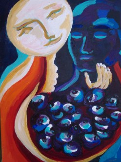 This is the painting from the dream I am describing in this article.