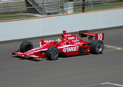 Car driven by Dan Wheldon in the Indy 500 in 2007.