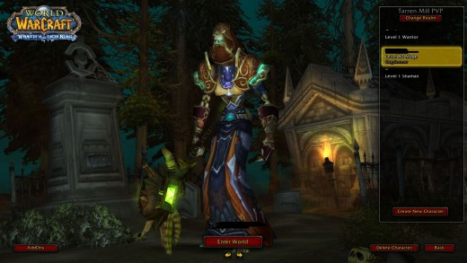 Undead Mage (wish I still had my pics)