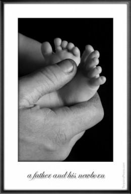 Tenderness of a newborn