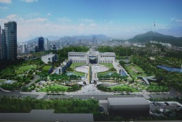 An illustration of how the Korean War Memorial will look like after renovation.