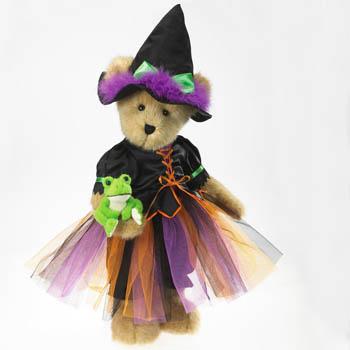 Fanciful and Fun Halloween Plush Bear