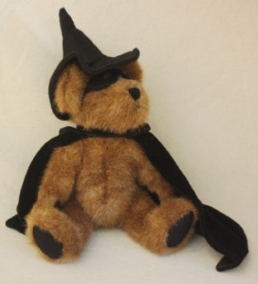 Wizard Bear Dressed for Halloween